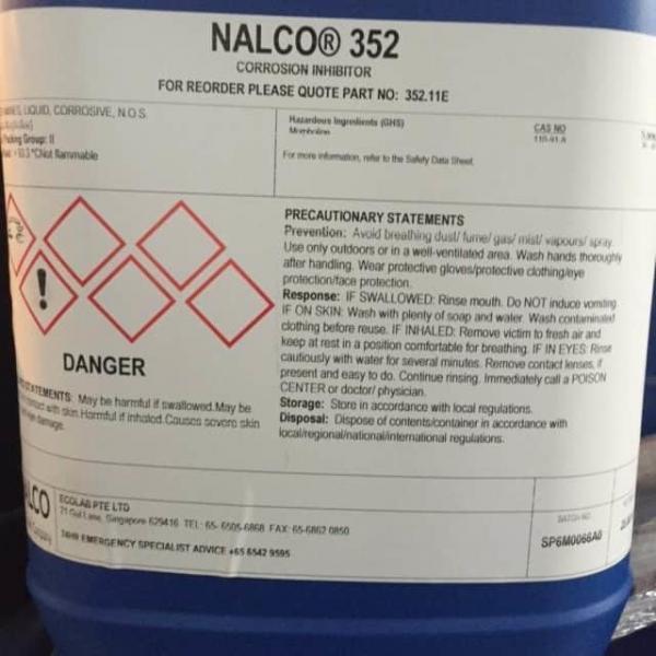 Nalco 352 Hóa chất lò hơi