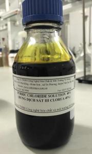 Màu dung dịch FeCl3 40%