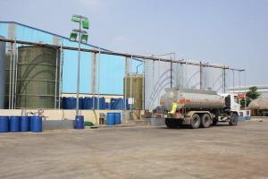 FeCl2 25% - 30% Bồn chứa và xe bồn vận chuyển