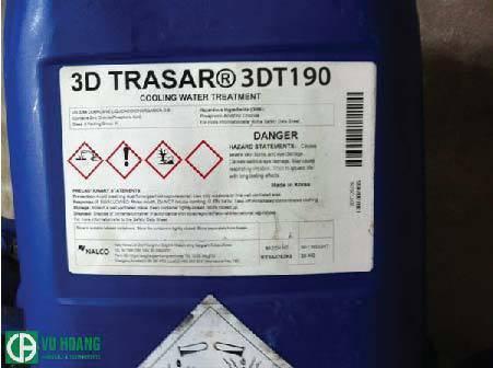 Hóa chất chống cáu cặncho tháp giải nhiệt - Nalco 3DT190